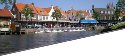 Sluis-waterfietsen